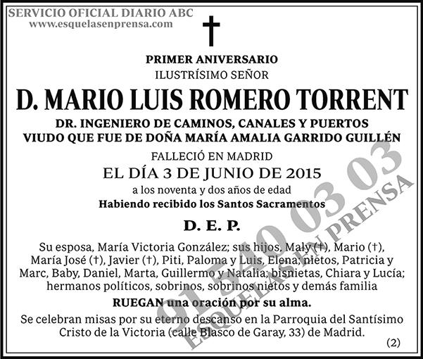Mario Luis Romero Torrent